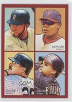 David Ortiz, Ryan Howard, Jason Giambi, Prince Fielder