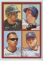 David Wright, Derek Jeter, Jose Reyes, Alex Rodriguez