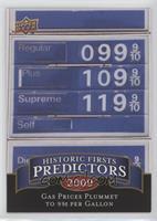 Gas Prices Plummet to 99 cents per Gallon