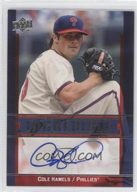 2009 Upper Deck Inkcredible #INK-CH - Cole Hamels