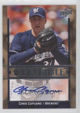 2009 Upper Deck Inkredible [???] #CA - Chris Capuano