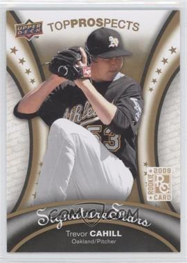 2009 Upper Deck Signature Stars - [Base] #105 - Trevor Cahill