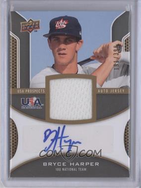 2009 Upper Deck Signature Stars - USA Prospects Autograph Jerseys #USA-BH - Bryce Harper /399