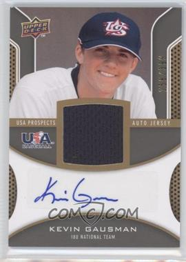 2009 Upper Deck Signature Stars - USA Prospects Autograph Jerseys #USA-KG - Kevin Gausman /399