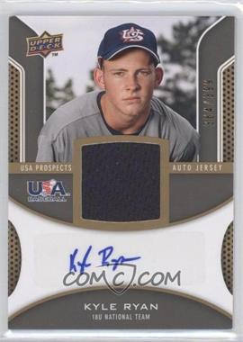 2009 Upper Deck Signature Stars - USA Prospects Autograph Jerseys #USA-KR - Kyle Ryan /399