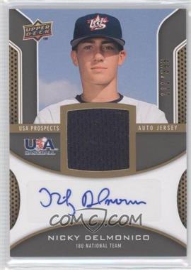 2009 Upper Deck Signature Stars - USA Prospects Autograph Jerseys #USA-ND - Nicky Delmonico /399