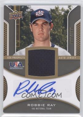 2009 Upper Deck Signature Stars - USA Prospects Autograph Jerseys #USA-RR - Robbie Ray /399