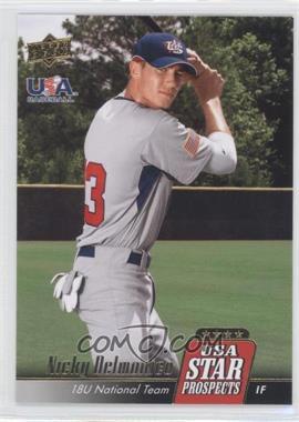 2009 Upper Deck Signature Stars - USA Star Prospects #USA-5 - Nicky Delmonico