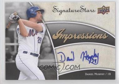 2009 Upper Deck Signature Stars Impressions Autographs #IMP-MU - Daniel Murphy