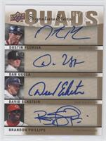Dustin Pedroia, Dan Uggla, David Eckstein, Brandon Phillips /10