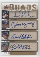 Adrian Gonzalez, David Eckstein, Chris Young, Josh Geer /30