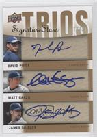 David Price, Matt Garza, James Shields, Dan Prior /35