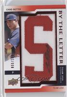 Chad Bettis letter S /100