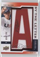 Tony Wolters (letter A) /100