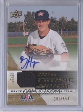 2009 Upper Deck Signature Stars USA Future Watch Jersey Autographs #UFWA-30 - Bryce Harper /899