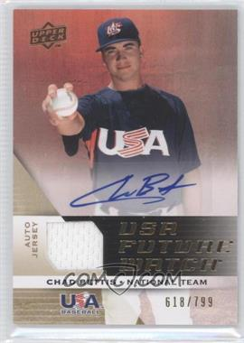2009 Upper Deck Signature Stars USA Future Watch Jersey Autographs #UFWA-4 - Chad Bettis /799