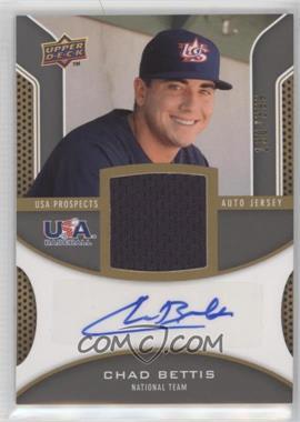 2009 Upper Deck Signature Stars USA Prospects Autograph Jerseys #USA-BE - Chad Bettis /399