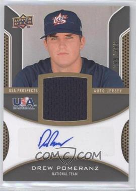 2009 Upper Deck Signature Stars USA Prospects Autograph Jerseys #USA-DP - Drew Pomeranz /399