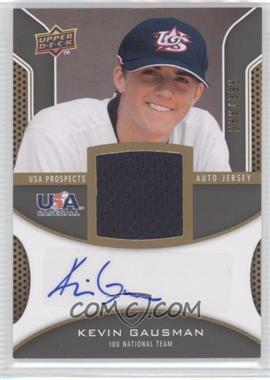 2009 Upper Deck Signature Stars USA Prospects Autograph Jerseys #USA-KG - Kevin Gausman /399