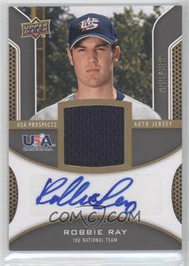 2009 Upper Deck Signature Stars USA Prospects Autograph Jerseys #USA-RR - Robbie Ray /399