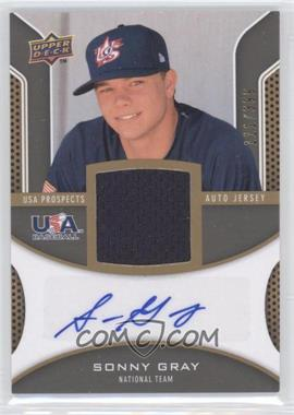 2009 Upper Deck Signature Stars USA Prospects Autograph Jerseys #USA-SG - Sonny Gray /399