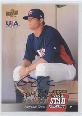 2009 Upper Deck Signature Stars USA Star Prospects Autographs [Autographed] #USA-A25 - Gerrit Cole