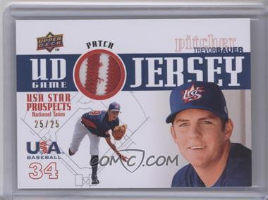 2009 Upper Deck Signature Stars USA Star Prospects UD Game Jersey Patch [Memorabilia] #GPU-21 - Trevor Bauer /25