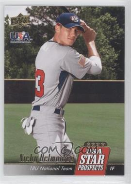 2009 Upper Deck Signature Stars USA Star Prospects #USA-5 - Nicky Delmonico