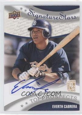 2009 Upper Deck Signature Stars #183 - Everth Cabrera
