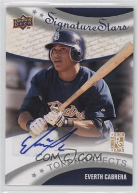 2009 Upper Deck Signature Stars #183 - Everth Cabrera