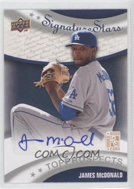 2009 Upper Deck Signature Stars #195 - James McDonald
