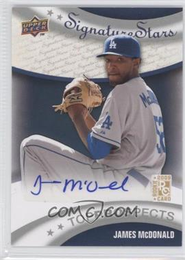 2009 Upper Deck Signature Stars #195 - James McDonald