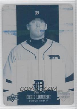 2009 Upper Deck Spectrum Printing Plate Cyan #118 - Chris Lambert /1