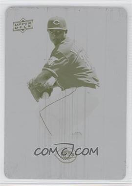 2009 Upper Deck Spectrum Printing Plate Yellow #27 - Edinson Volquez /1