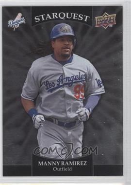 2009 Upper Deck Starquest Silver Common #SQ-21 - Manny Ramirez