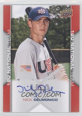 2009 Upper Deck USA Baseball Box Set [Base] #USA-107 - Nick Delmonico