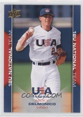 2009 Upper Deck USA Baseball Box Set [Base] #USA-27 - Nick Delmonico