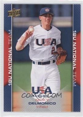 2009 Upper Deck USA Baseball Box Set [Base] #USA-27 - Nicky Delmonico