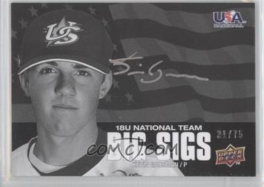 2009 Upper Deck USA Baseball Box Set Big Sigs 18U National Team #BS18U-KG - Kevin Gausman /75