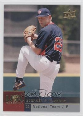 2009 Upper Deck USA National Team #USAB-SS - Stephen Strasburg