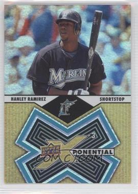 2009 Upper Deck X Xponential 3 #X3-3 - Hanley Ramirez