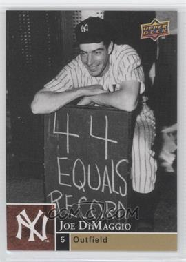 2009 Upper Deck #0 - Joe DiMaggio