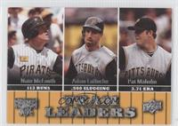Nate McLouth, Adam LaRoche, Paul Maholm