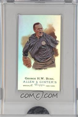 2009 eTopps Allen & Ginter's Presidential Pitch [???] #7 - George H.W. Bush /999