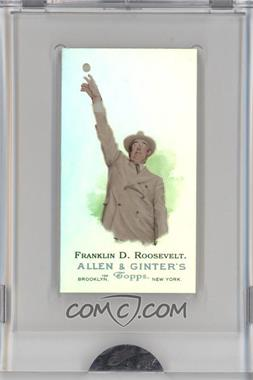 2009 eTopps Allen & Ginter's Presidential Pitch [???] #9 - Franklin D. Roosevelt /999