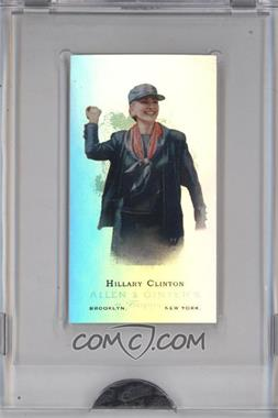 2009 eTopps Allen & Ginter's Presidential Pitch #1 - Hillary Clinton /999