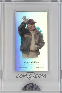 2009 eTopps Allen & Ginter's Presidential Pitch #3 - John McCain /999