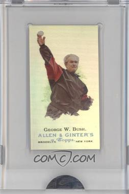 2009 eTopps Allen & Ginter's Presidential Pitch #6 - George W. Bush /999