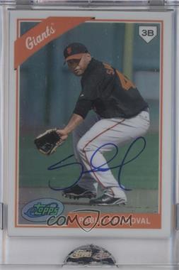 2009 eTopps Autographs [Autographed] #22 - Pablo Sandoval /599