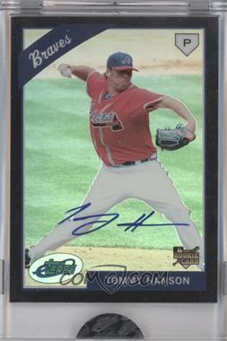 2009 eTopps Autographs [Autographed] #30 - Tommy Hanson /999